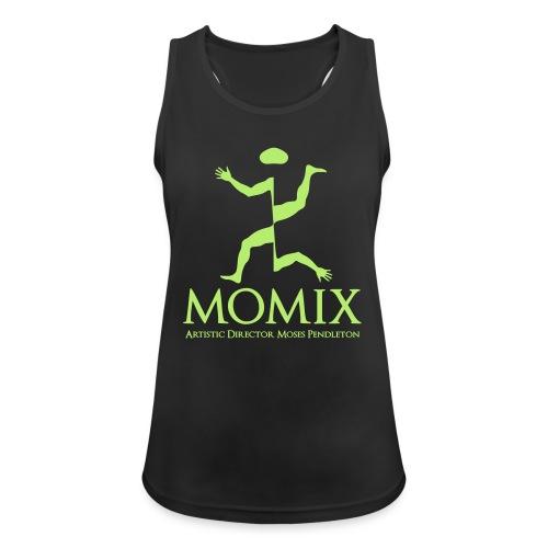 MomixLogo Back - Top da donna traspirante