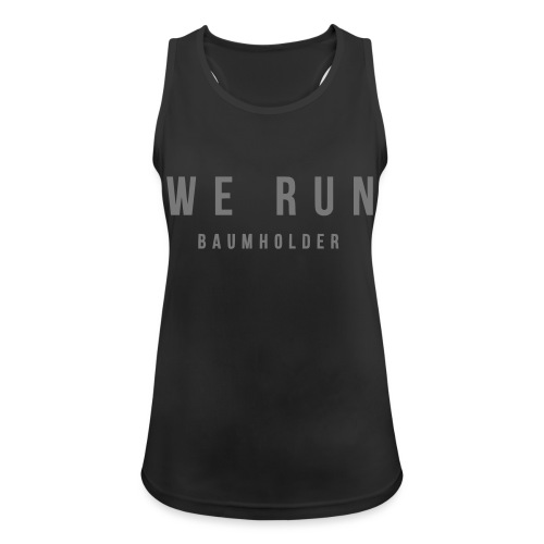 WE RUN BAUMHOLDER T-Shirt - Frauen Tank Top atmungsaktiv