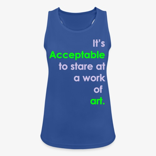 itsacceptable - Women's Breathable Tank Top