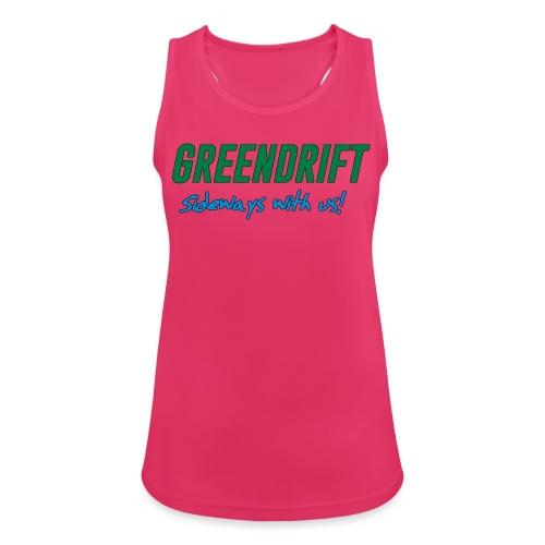 GreenDrift Logo Design 2020 - Pustende singlet for kvinner