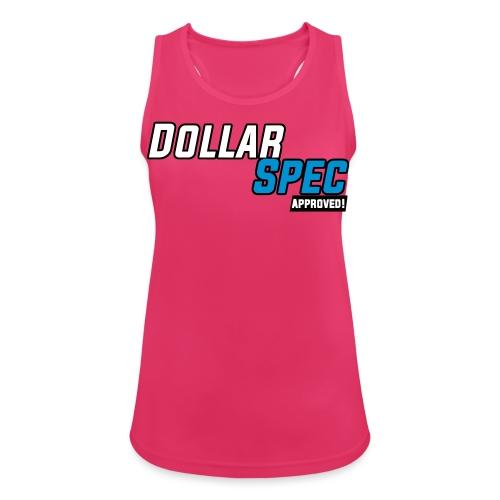 DollarSpec Logo 2020 Approve - Pustende singlet for kvinner