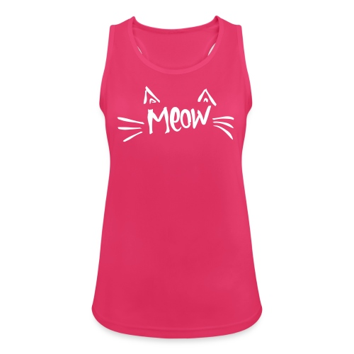 Vorschau: meow2 - Frauen Tank Top atmungsaktiv