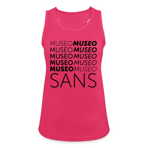 museo sans - Women's Breathable Tank Top