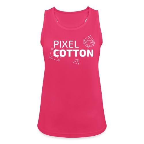 Pixelcotton_polygone_logo - Frauen Tank Top atmungsaktiv