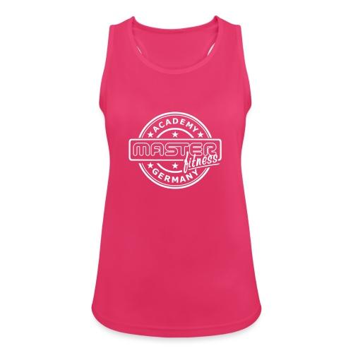 Logo masterfitness academy - Frauen Tank Top atmungsaktiv