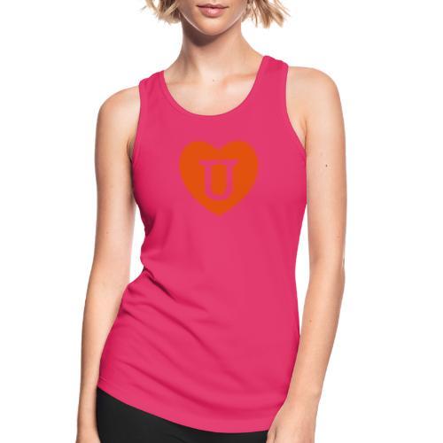 LOVE- U Heart - Women's Breathable Tank Top
