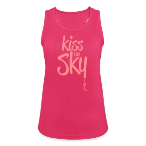 kiss the sky *2018* - Frauen Tank Top atmungsaktiv