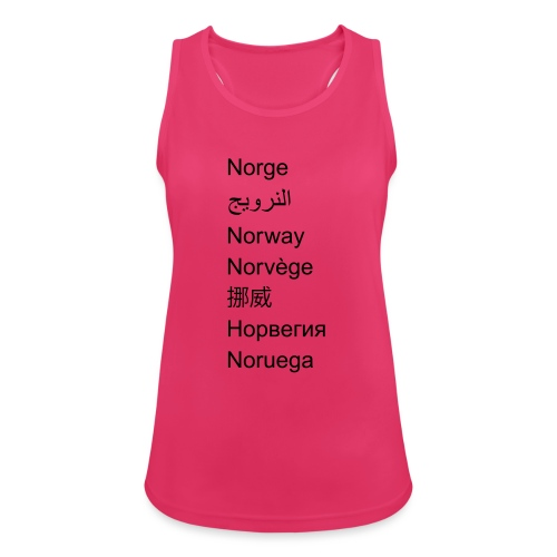 FN-Norge - plagget.no - Pustende singlet for kvinner