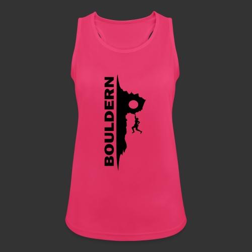Bouldern - Frauen Tank Top atmungsaktiv