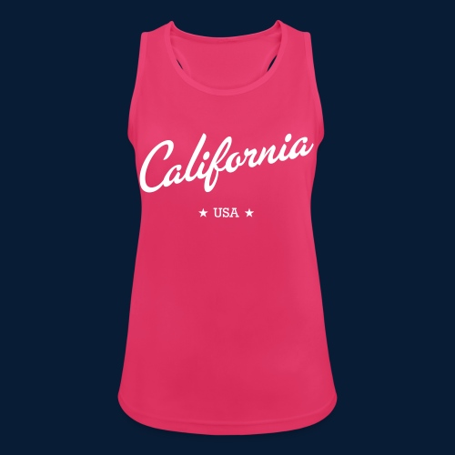California - Frauen Tank Top atmungsaktiv