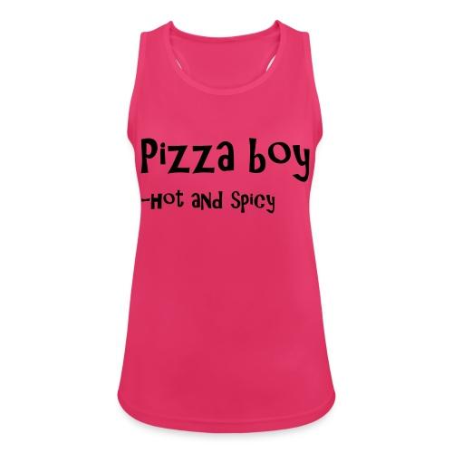 Pizza boy - Pustende singlet for kvinner
