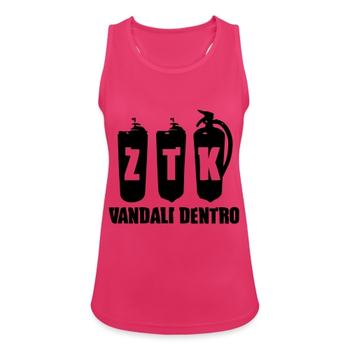 ZTK Vandali Dentro Morphing 1 - Women's Breathable Tank Top