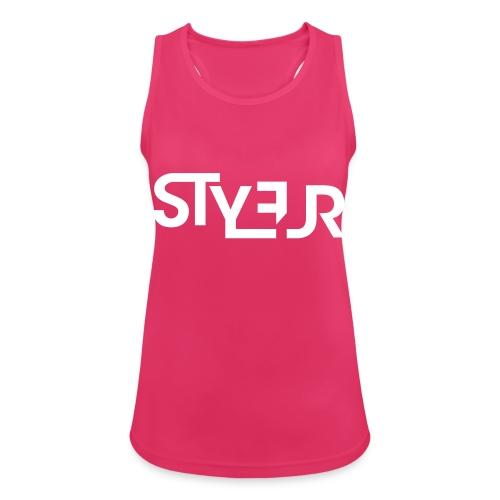 styleur logo spreadhsirt - Frauen Tank Top atmungsaktiv