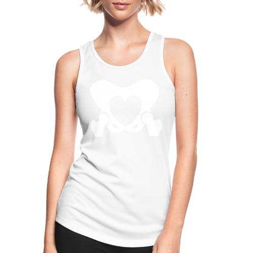 Love Your Hips Logo - Women's Breathable Tank Top