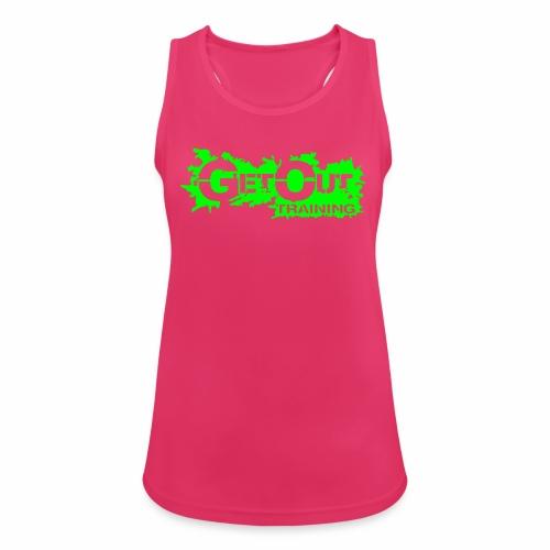 GO Sweaty Ladys - Frauen Tank Top atmungsaktiv