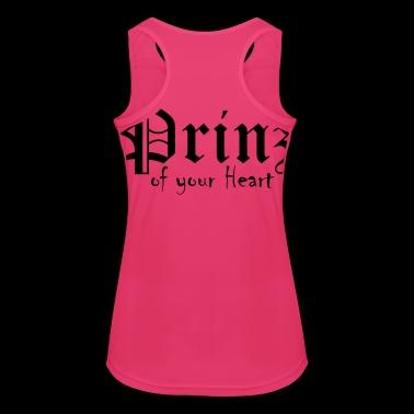 Prins van je hart - Vrouwen tanktop ademend