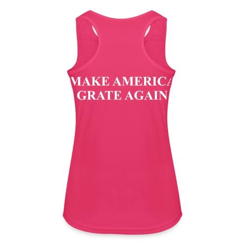 Make America Grate Again - Women's Breathable Tank Top