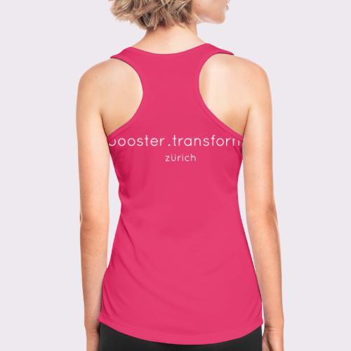 booster.transform zürich - Women's Breathable Tank Top