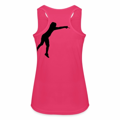Jumping Fencer - Frauen Tank Top atmungsaktiv