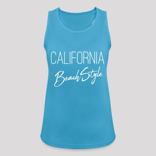 California Beach Style Shirt - Frauen Tank Top atmungsaktiv