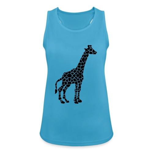 Giraffe (black) - Naisten tekninen tankkitoppi