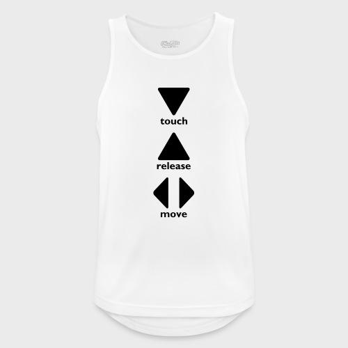 Touch Release Move - Men's Breathable Tank Top