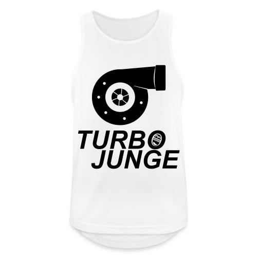 Turbojunge! - Männer Tank Top atmungsaktiv