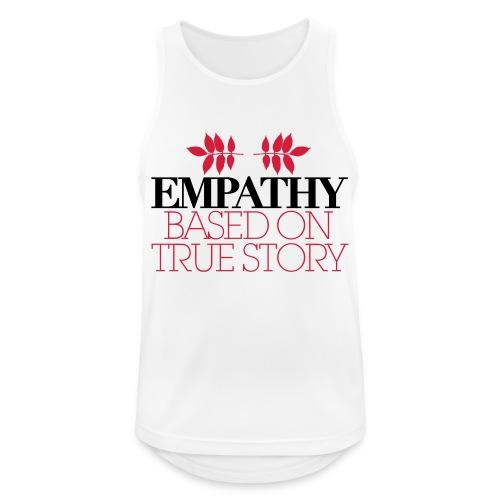 empathy story - Tank top męski oddychający