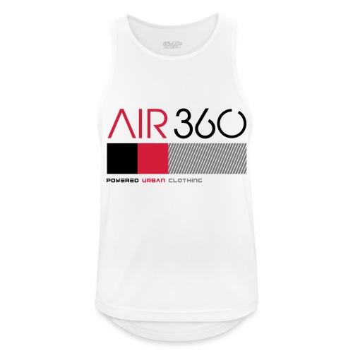 Air360 - Camiseta sin mangas hombre transpirable