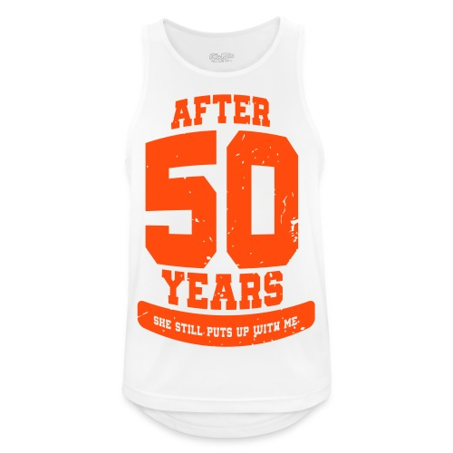 Ü50 Über 50 Jahre 50th - colorize - Männer Tank Top atmungsaktiv