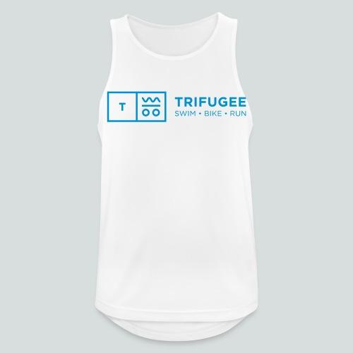 Trifugee_Logo - Männer Tank Top atmungsaktiv