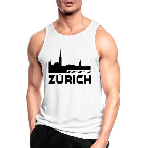 Zürich - Männer Tank Top atmungsaktiv