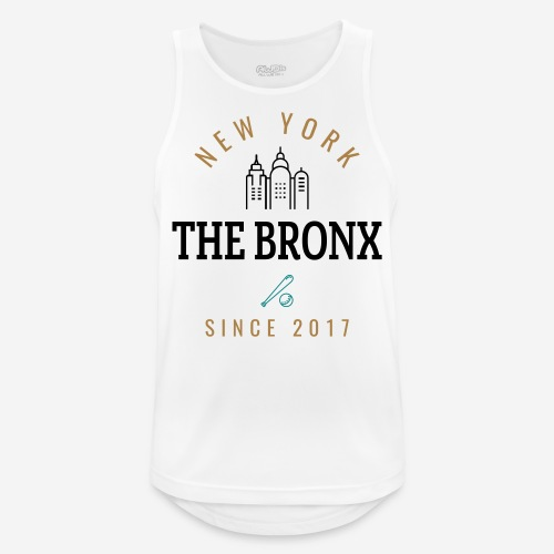 NEW YORK - THEBRONX - Canotta da uomo traspirante
