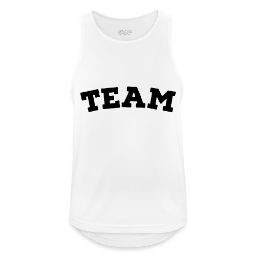 Team - Men's Breathable Tank Top
