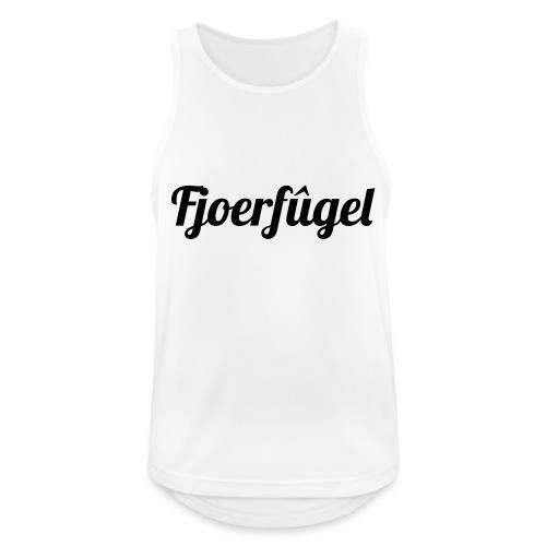fjoerfugel - Mannen tanktop ademend