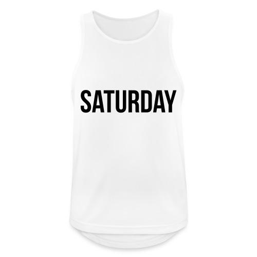 Saturday - Men's Breathable Tank Top