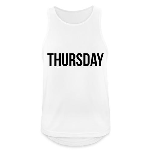 Thursday - Men's Breathable Tank Top