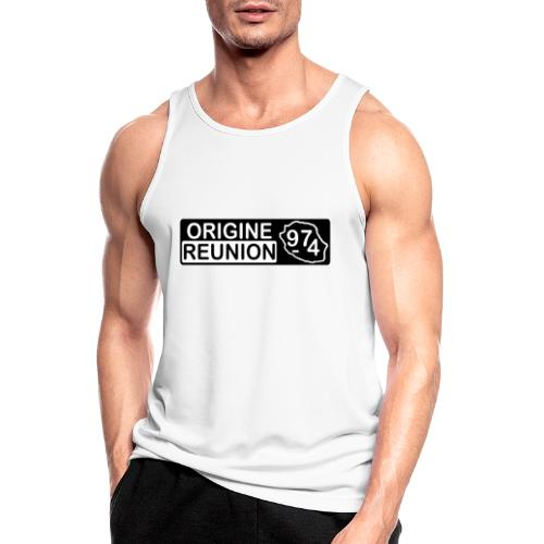 Origine Réunion 974 - v2 - Débardeur respirant Homme