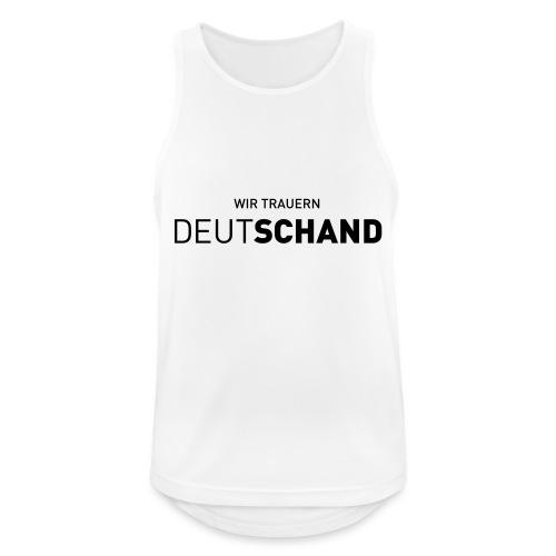 WIR TRAUERN Deutschand - Männer Tank Top atmungsaktiv