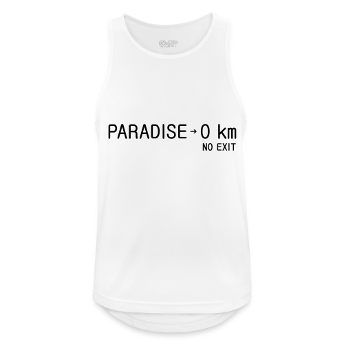 paradise0km - Männer Tank Top atmungsaktiv