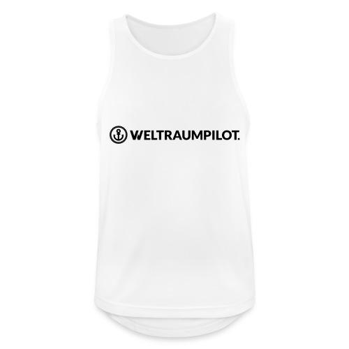 weltraumpilotquer - Männer Tank Top atmungsaktiv
