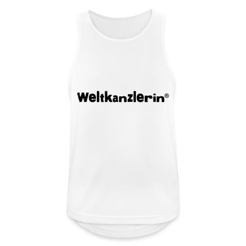 Weltkanzlerin® Frauen Premium T-Shirt - Männer Tank Top atmungsaktiv