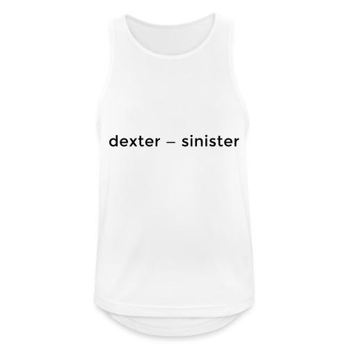 dexter sinister - Andningsaktiv tanktopp herr