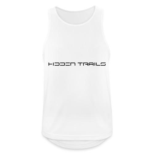 hidden trails - Männer Tank Top atmungsaktiv