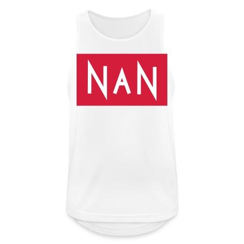 NaN | Not a Number - Mannen tanktop ademend