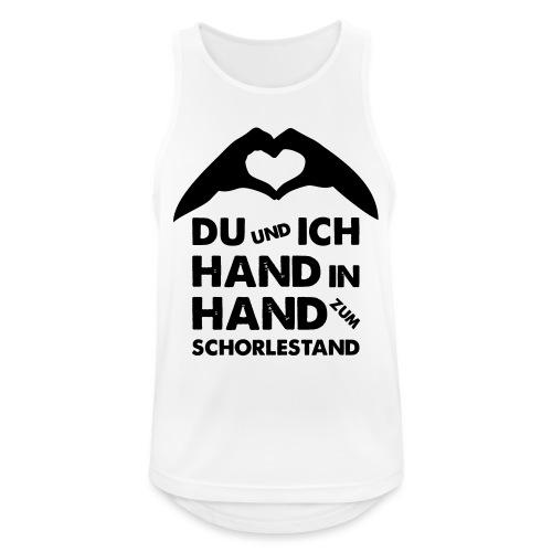 Hand in Hand zum Schorlestand / Gruppenshirt - Männer Tank Top atmungsaktiv