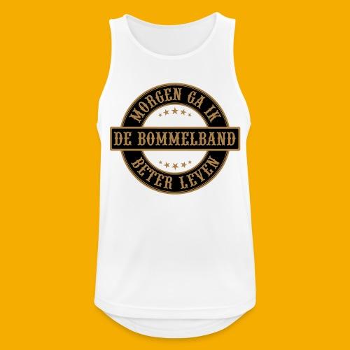 bb logo rond shirt - Mannen tanktop ademend actief