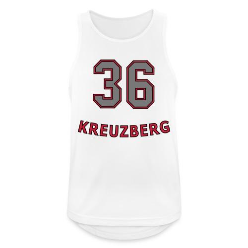 KREUZBERG 36 - Männer Tank Top atmungsaktiv