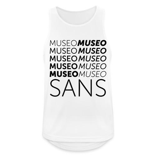 museo sans - Men's Breathable Tank Top