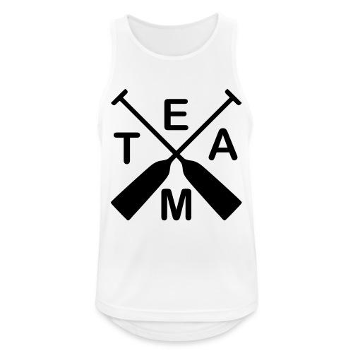 Drachenboot Team 1c - Männer Tank Top atmungsaktiv